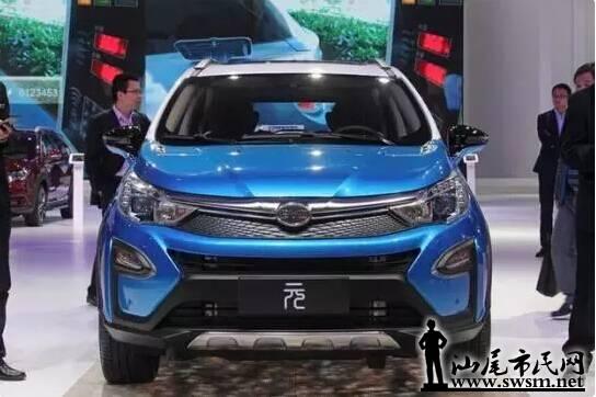 比亚迪第一款汉字车标suv 最新7万可买比亚迪元超美 最新的高清图片