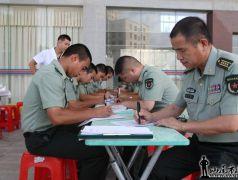 beplay体育城区军分区中心血站举行无偿献血活动